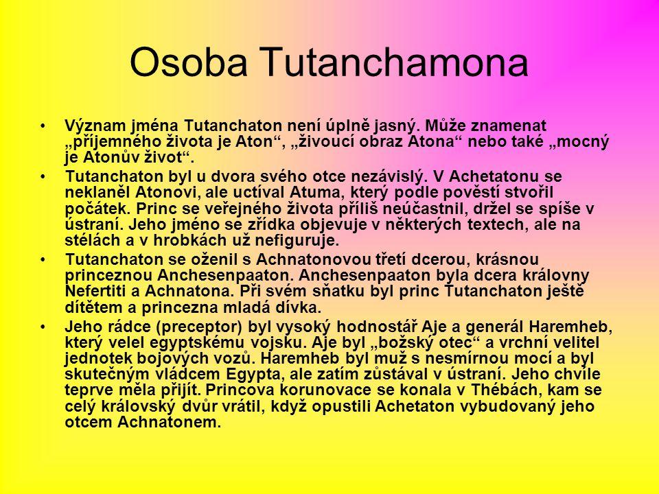 Osoba Tutanchamona