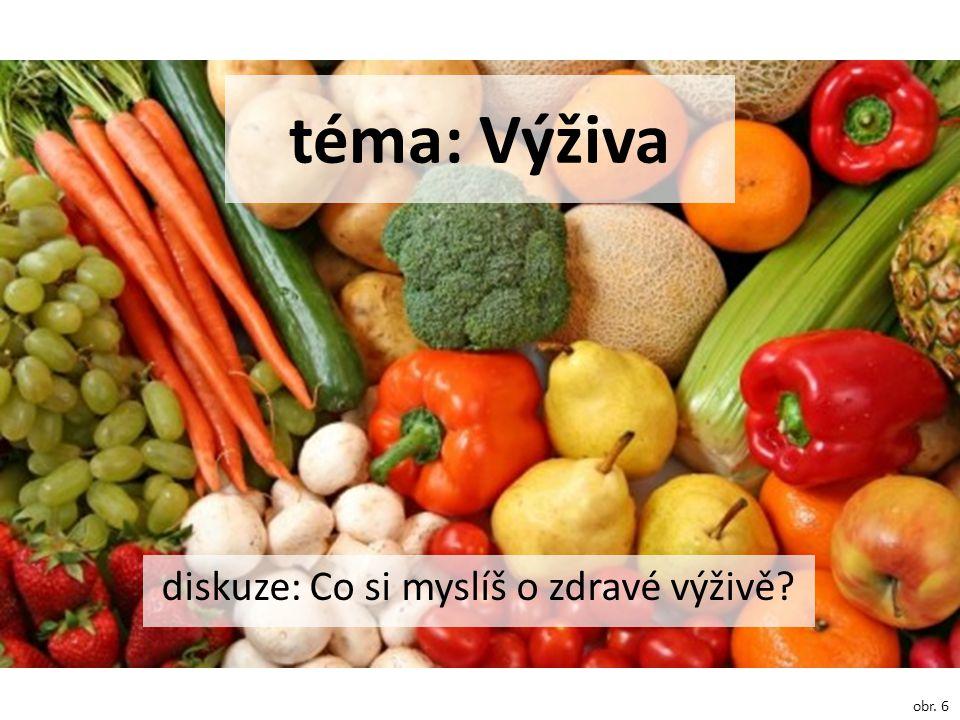 diskuze: Co si myslíš o zdravé výživě