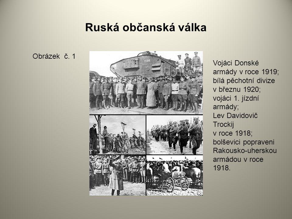 Ruská občanská válka Obrázek č. 1