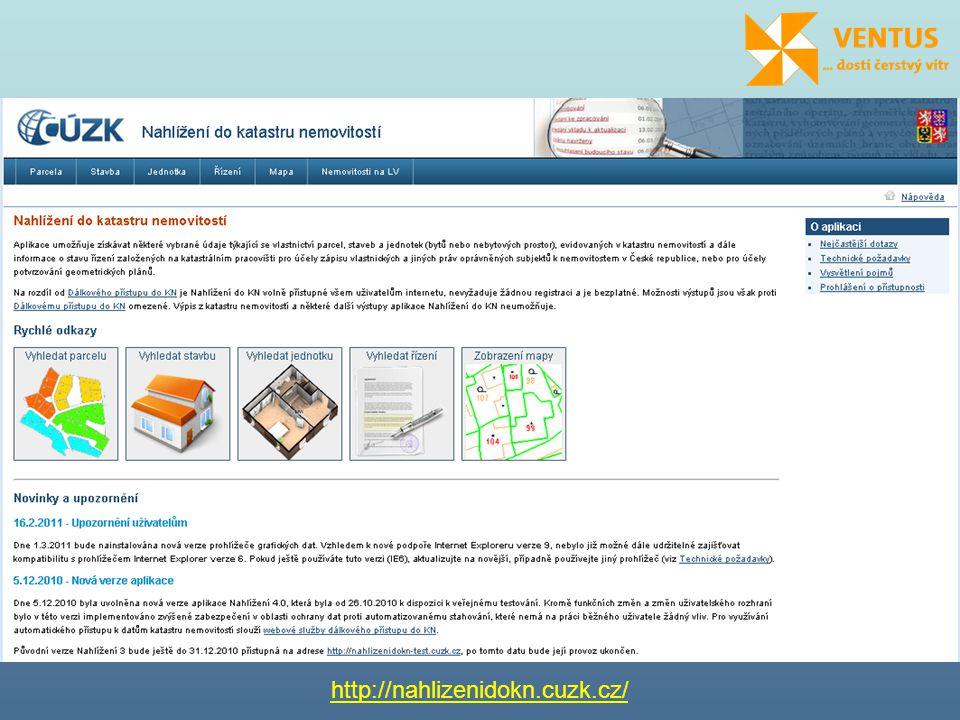 KN – soubor údajů o nemovitostech v ČR, který zahrnuje jejich popis a polohové a geometrické určení