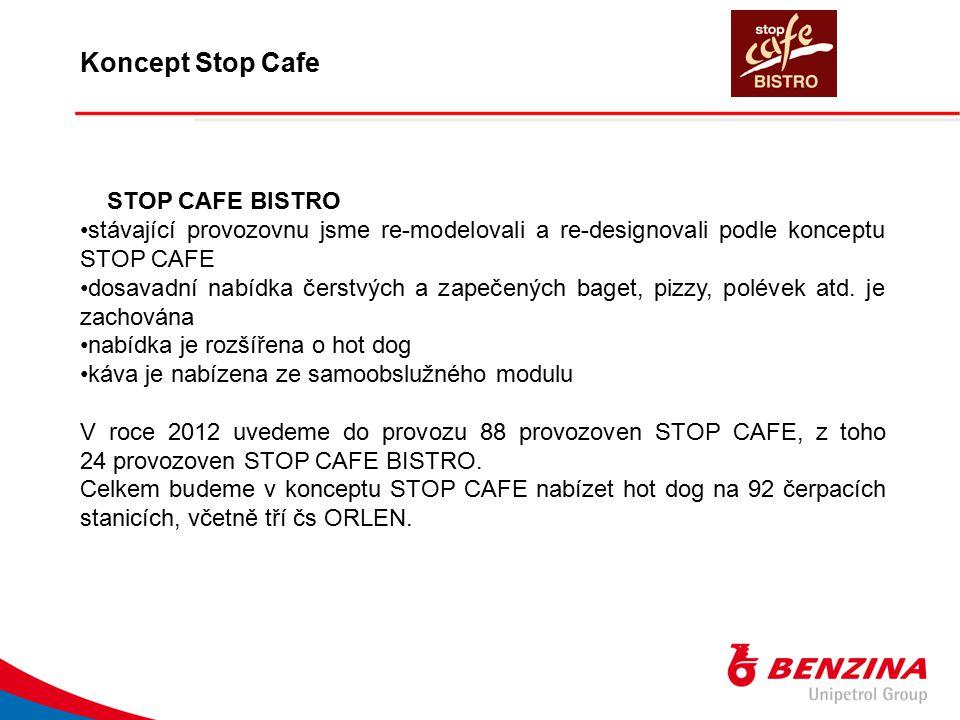 Koncept Stop Cafe STOP CAFE BISTRO