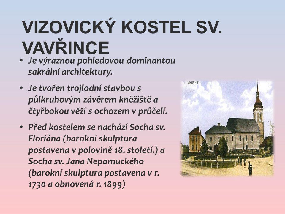 Vizovický kostel sv. Vavřince