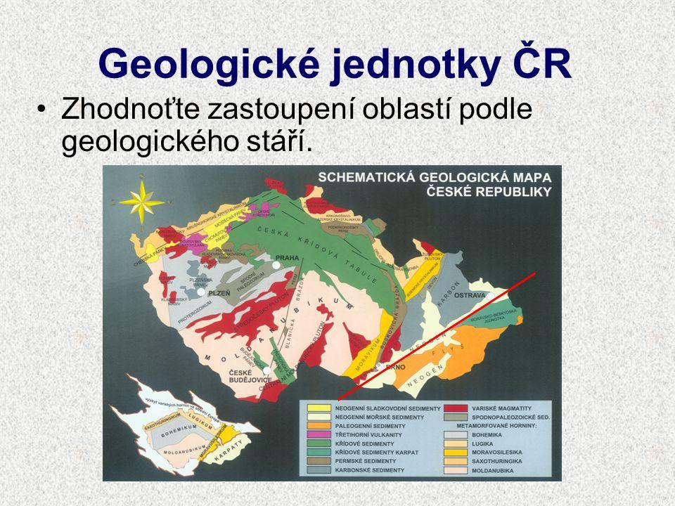 Geologické jednotky ČR