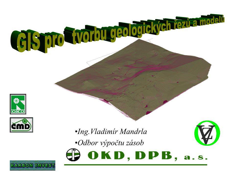 GIS pro tvorbu geologických řezů a modelů