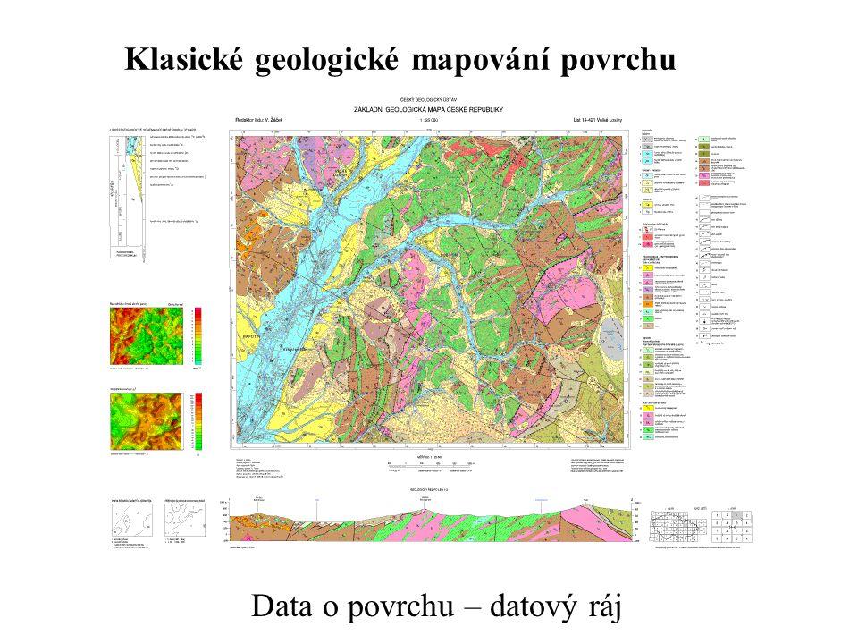 Klasické geologické mapování povrchu