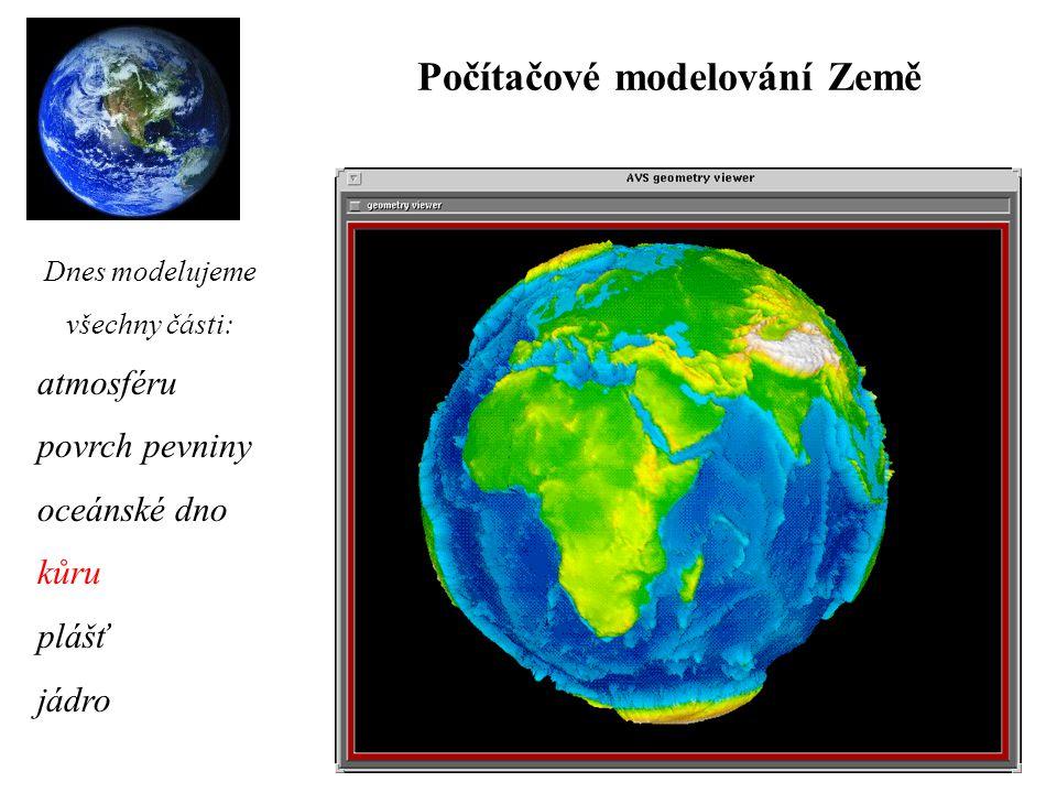 Počítačové modelování Země