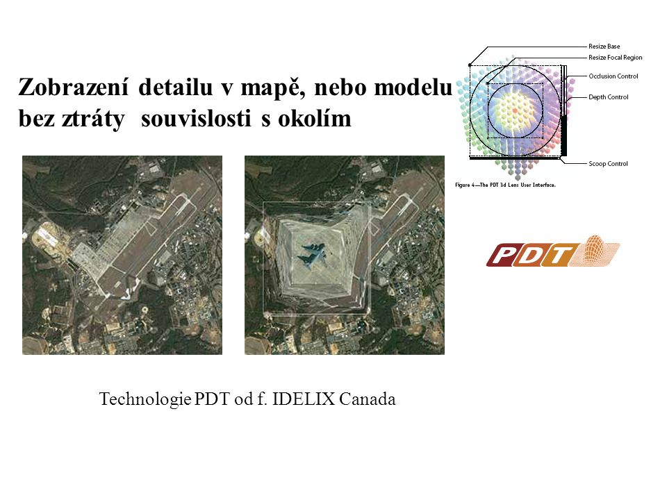 Technologie PDT od f. IDELIX Canada
