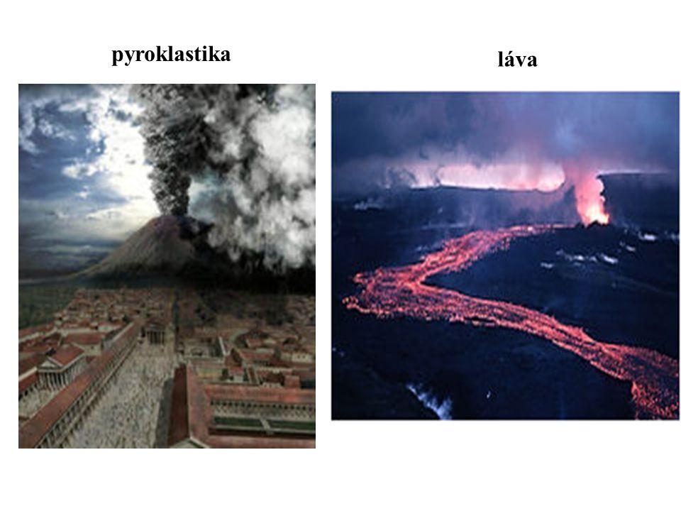 pyroklastika láva