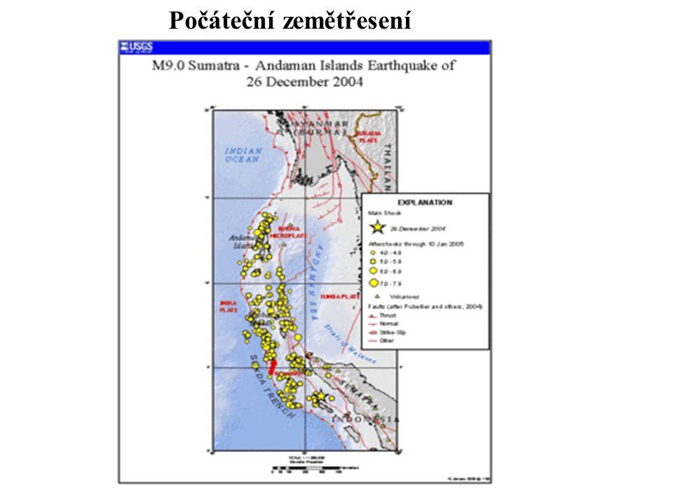 Počáteční zemětřesení