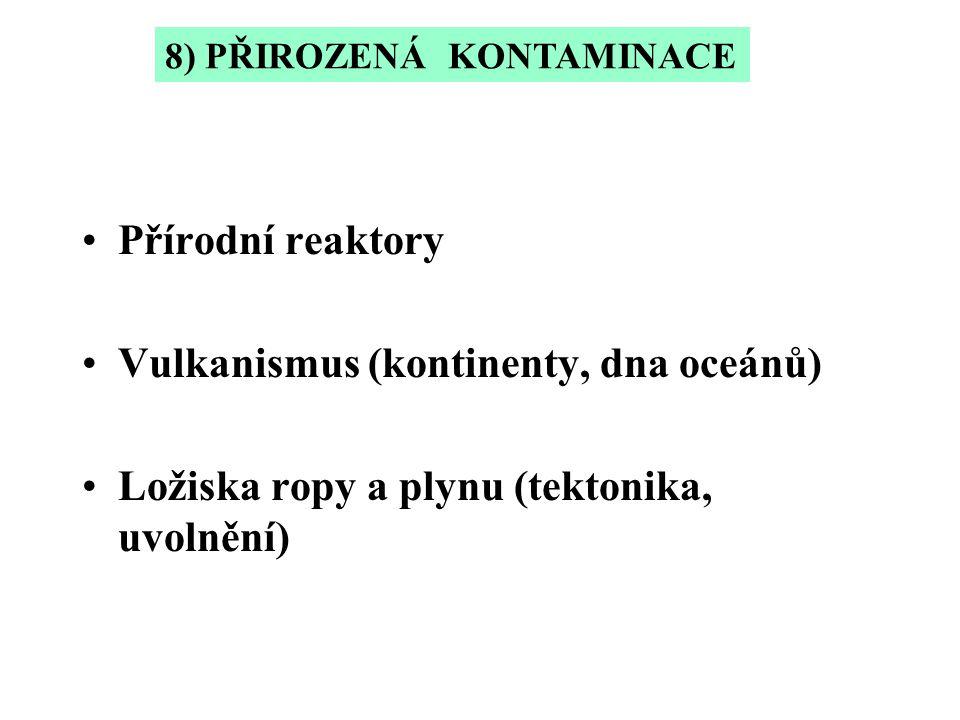 Vulkanismus (kontinenty, dna oceánů)