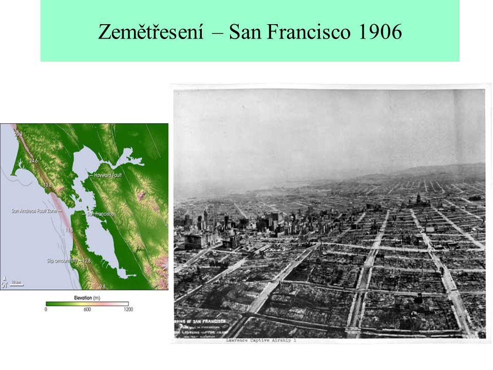 Zemětřesení – San Francisco 1906