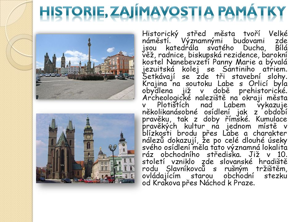 Historie, zajímavosti a památky