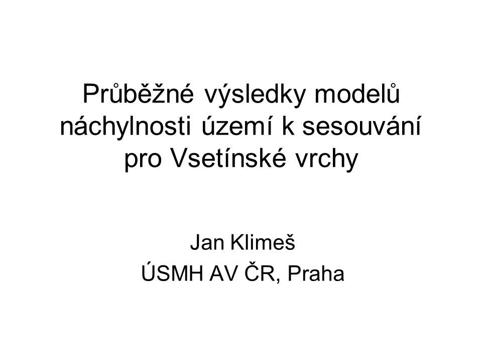 Jan Klimeš ÚSMH AV ČR, Praha