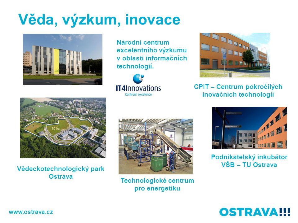 Věda, výzkum, inovace Národní centrum excelentního výzkumu v oblasti informačních technologií. CPIT – Centrum pokročilých inovačních technologií.