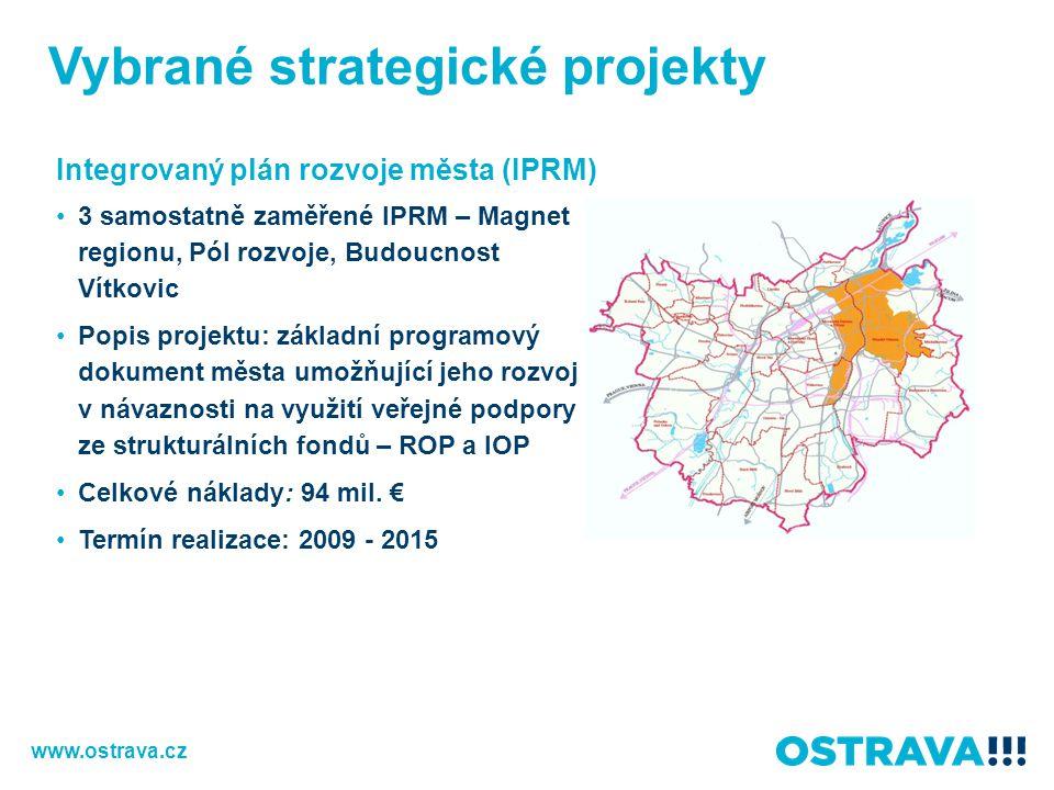 Vybrané strategické projekty