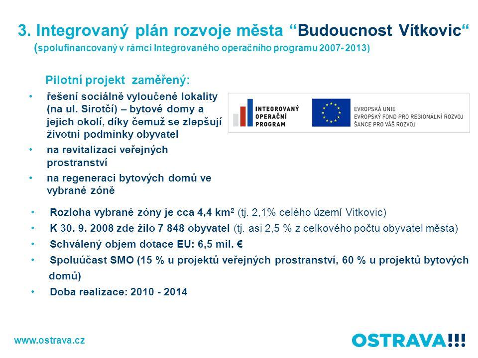 3. Integrovaný plán rozvoje města Budoucnost Vítkovic