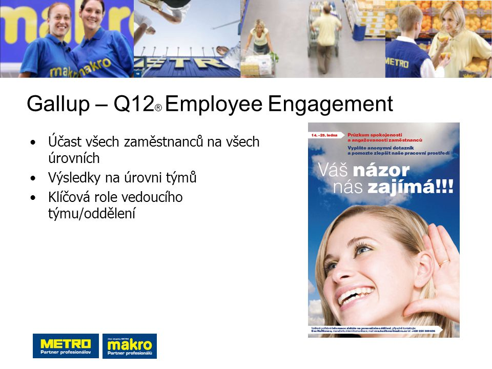 Gallup – Q12® Employee Engagement