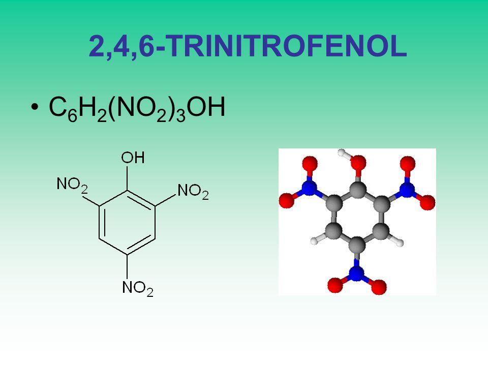 2,4,6-TRINITROFENOL C6H2(NO2)3OH