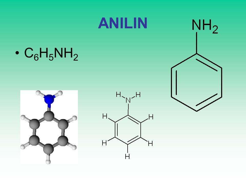 ANILIN C6H5NH2