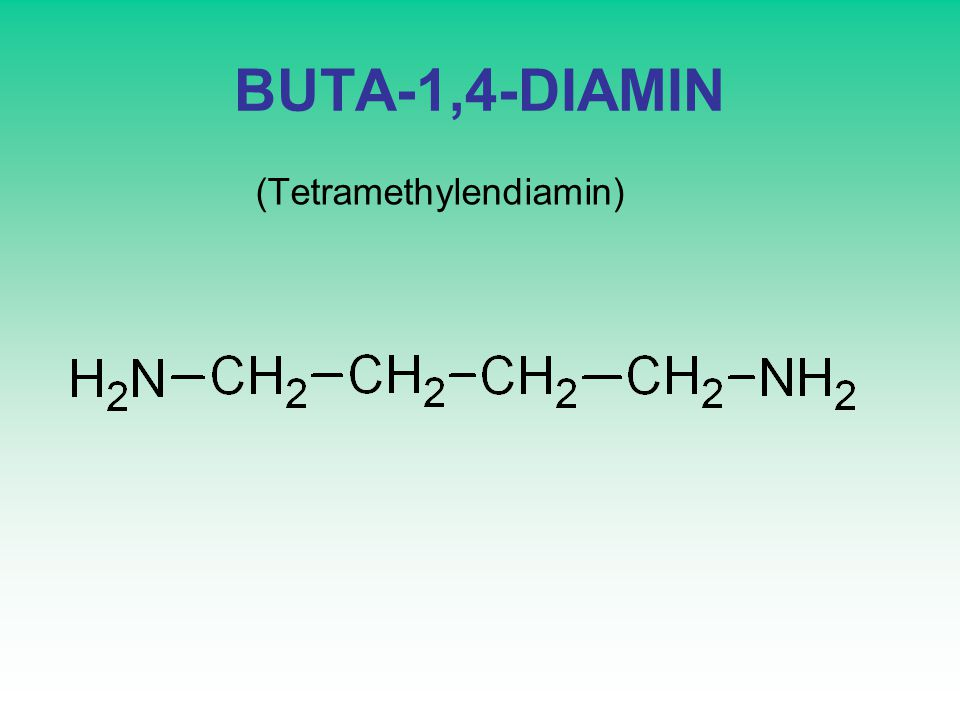 BUTA-1,4-DIAMIN (Tetramethylendiamin)
