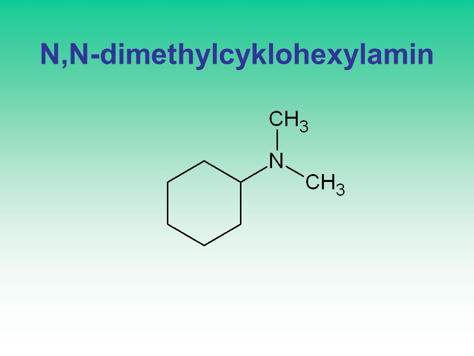 N,N-dimethylcyklohexylamin
