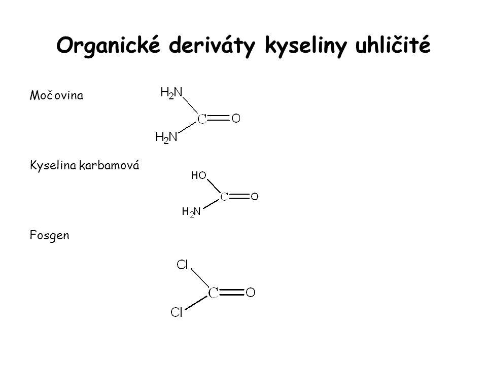 Organické deriváty kyseliny uhličité