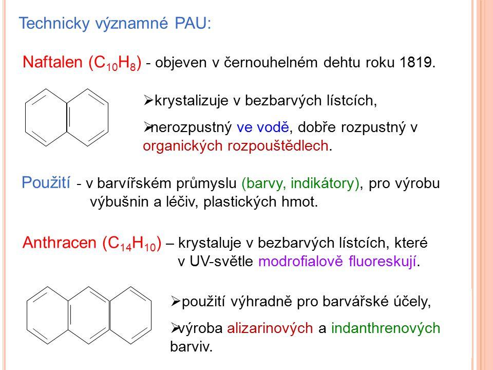 Technicky významné PAU: