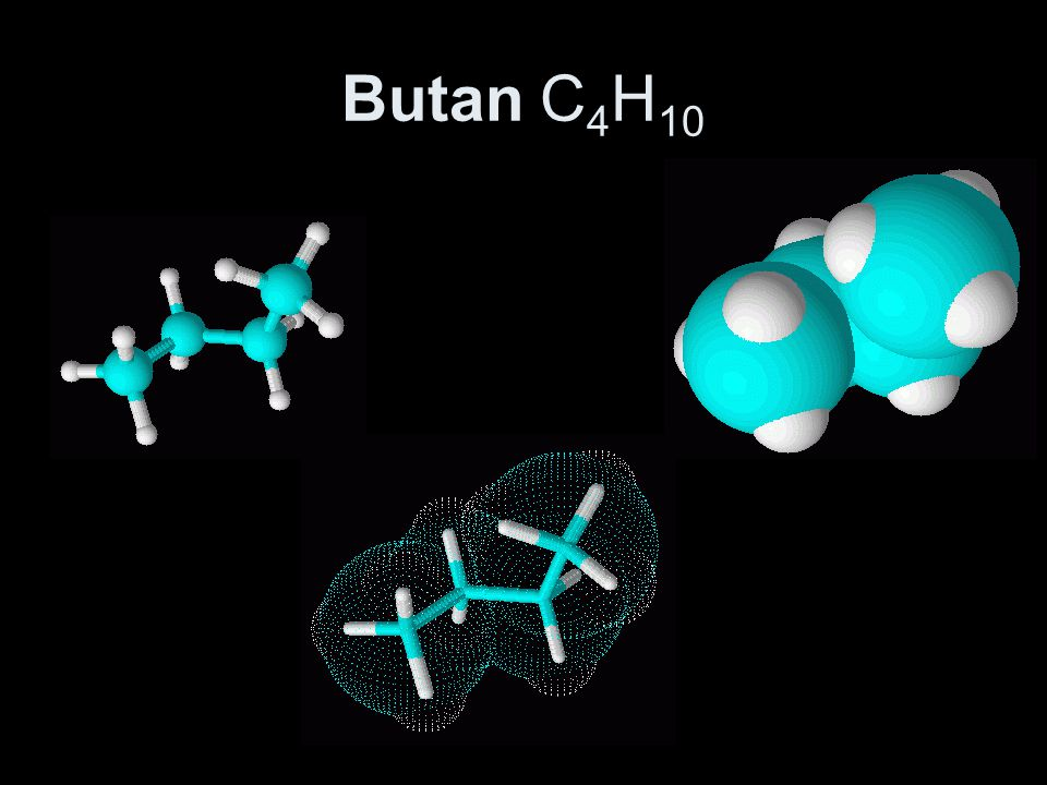 Butan C4H10