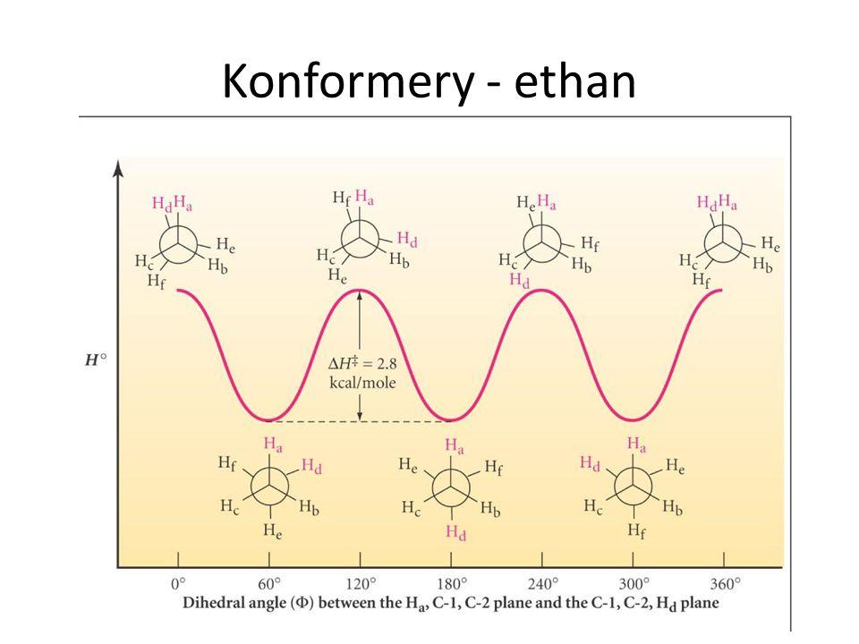 Konformery - ethan