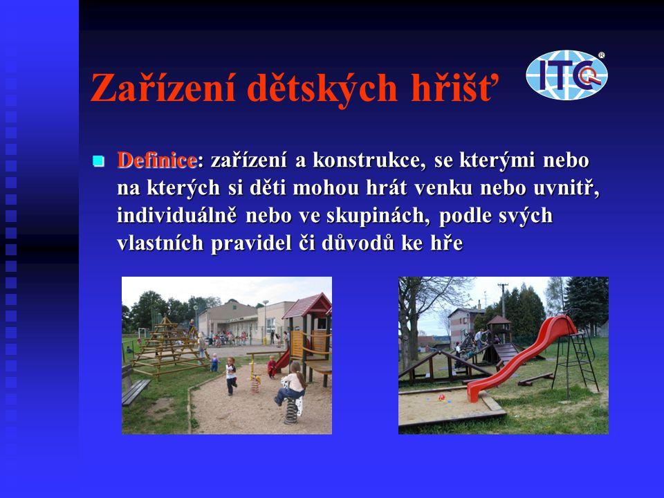 Zařízení dětských hřišť