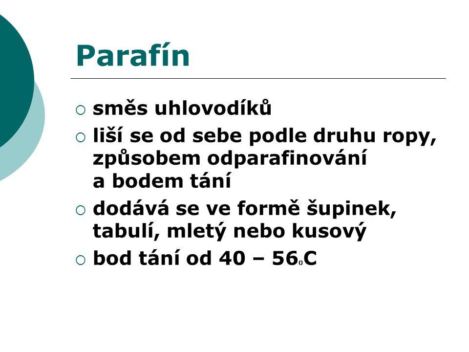 Parafín směs uhlovodíků