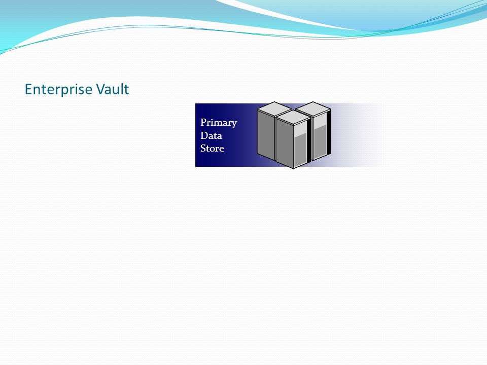 Enterprise Vault Primary Data Store