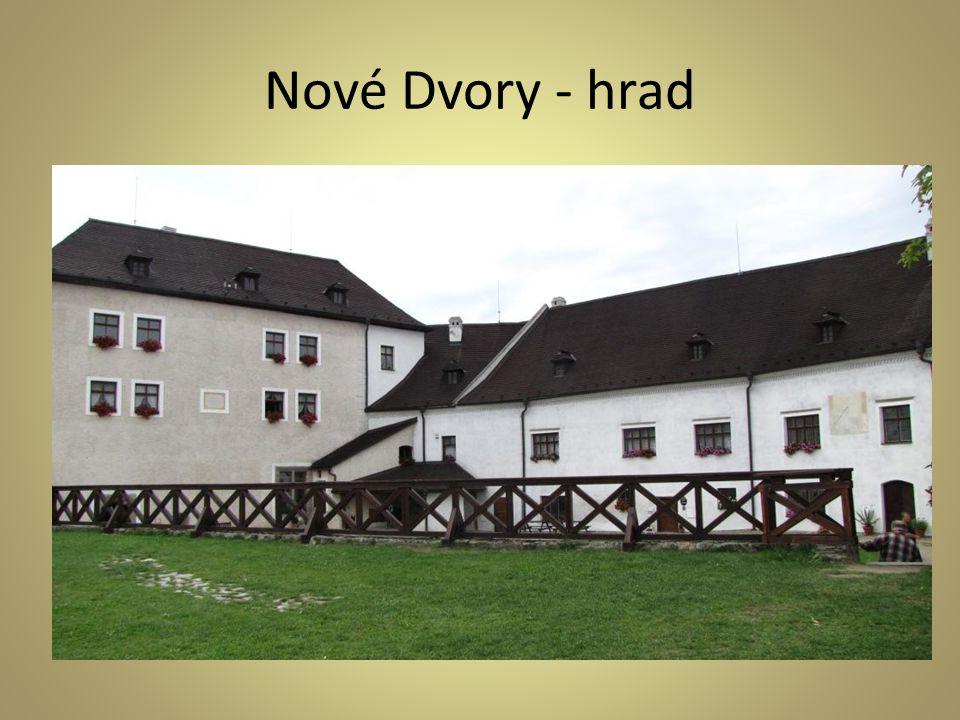 Nové Dvory - hrad