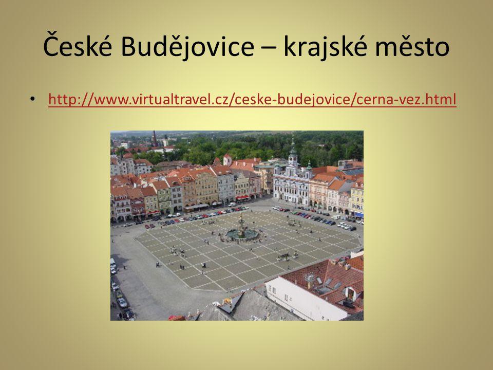 České Budějovice – krajské město