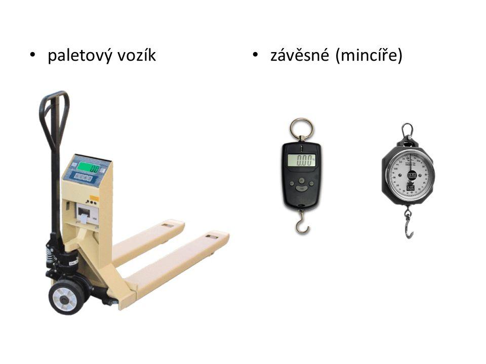 paletový vozík závěsné (mincíře)