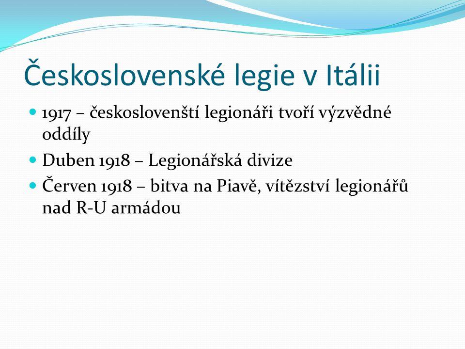 Československé legie v Itálii