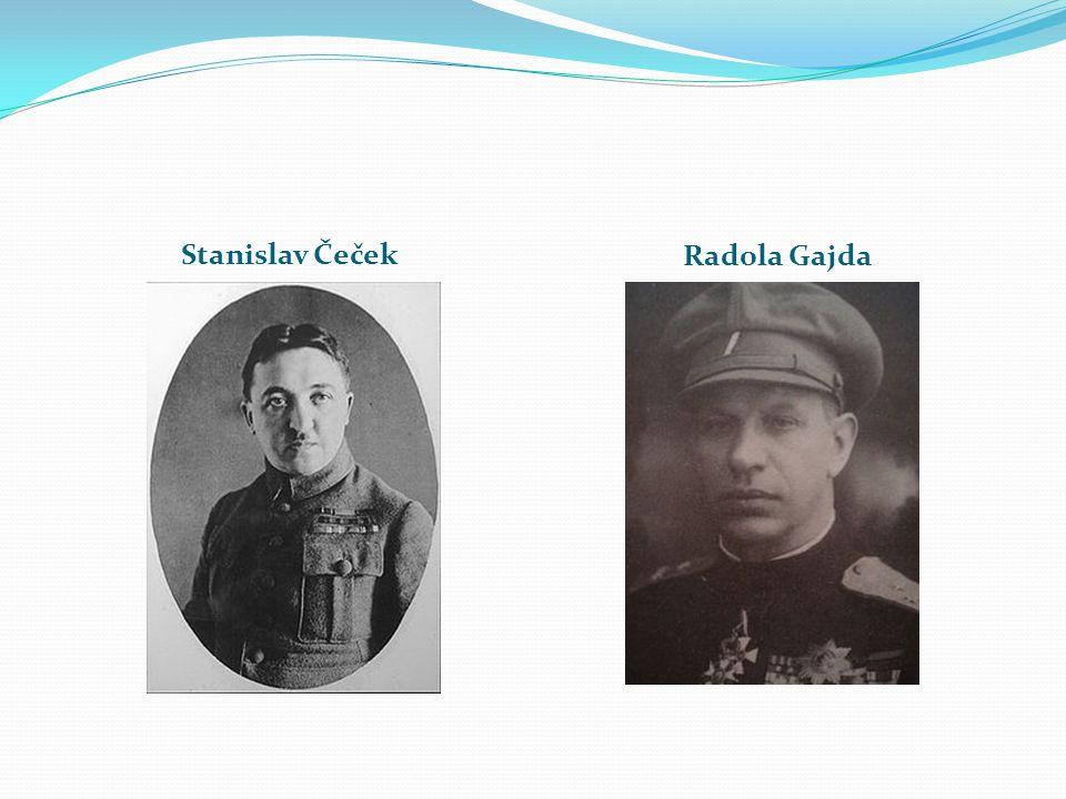 Stanislav Čeček Radola Gajda