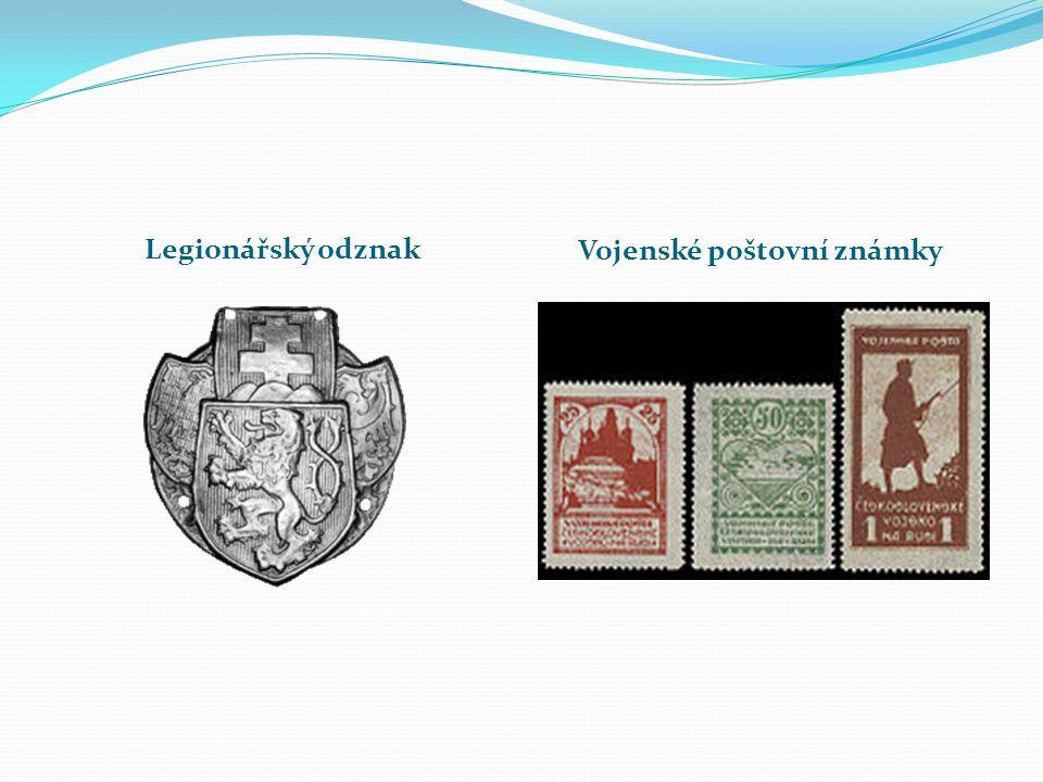Vojenské poštovní známky