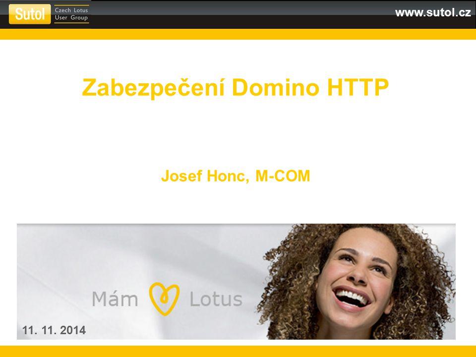 Zabezpečení Domino HTTP