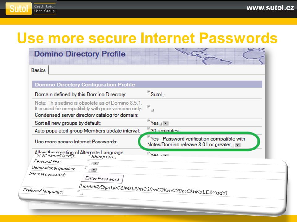 Use more secure Internet Passwords