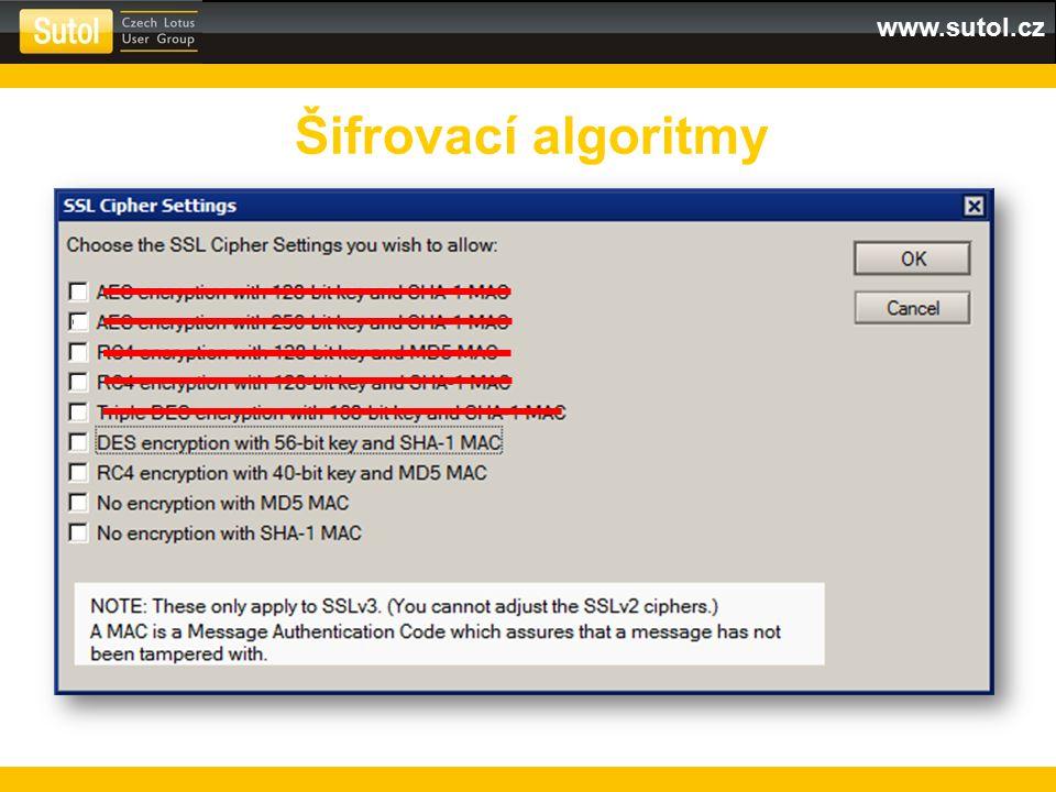 Šifrovací algoritmy