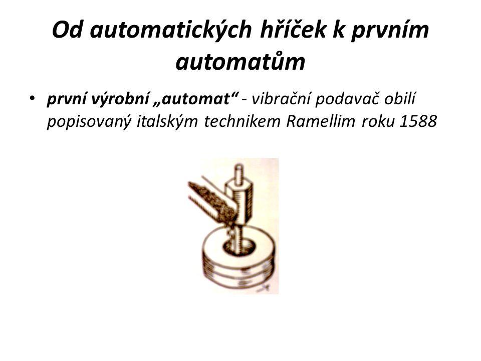 Od automatických hříček k prvním automatům