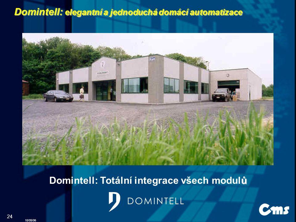 Domintell: elegantní a jednoduchá domácí automatizace