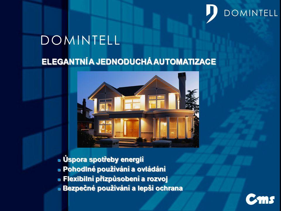 DOMINTELL DOMINTELL ELEGANTNÍ A JEDNODUCHÁ AUTOMATIZACE