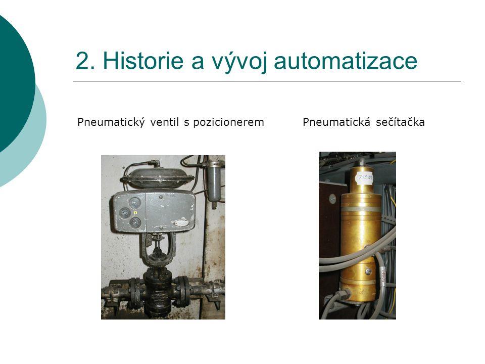 2. Historie a vývoj automatizace