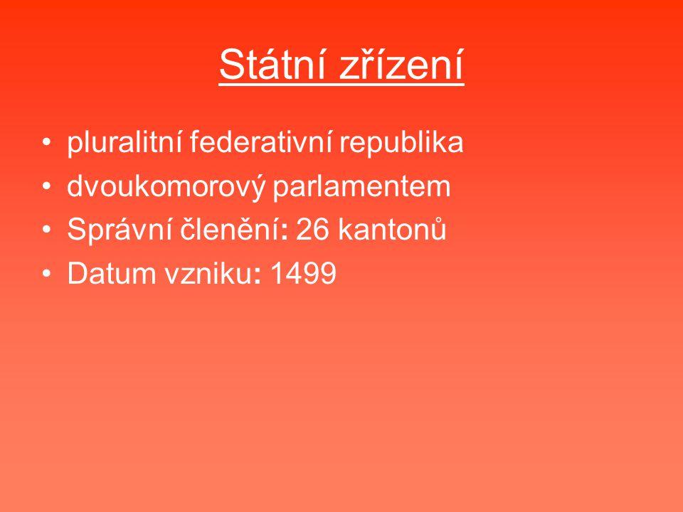 Státní zřízení pluralitní federativní republika