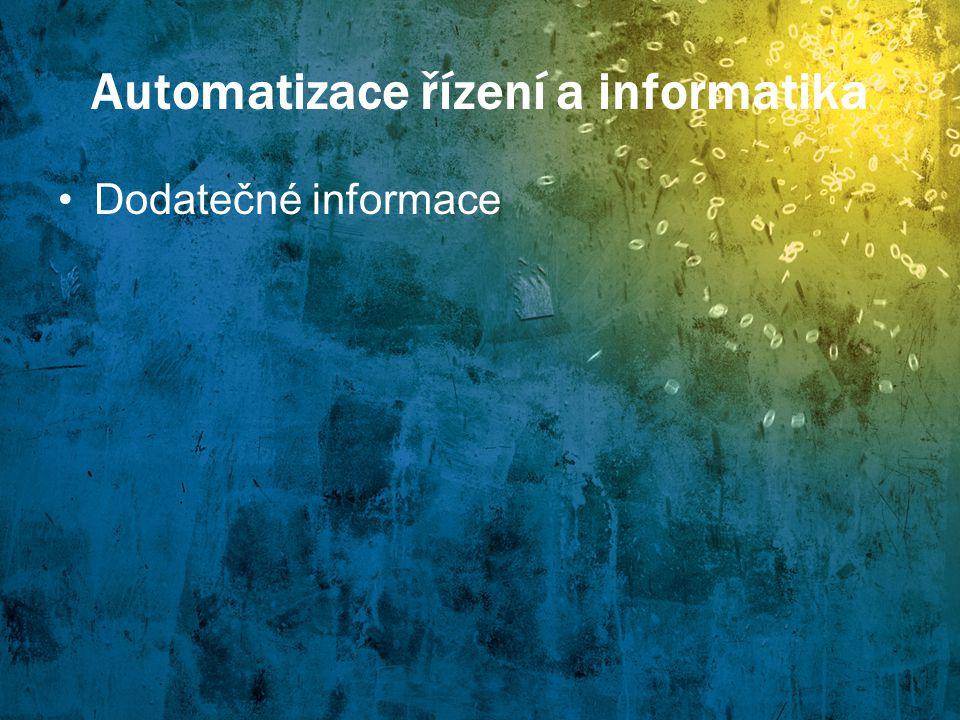 Automatizace řízení a informatika