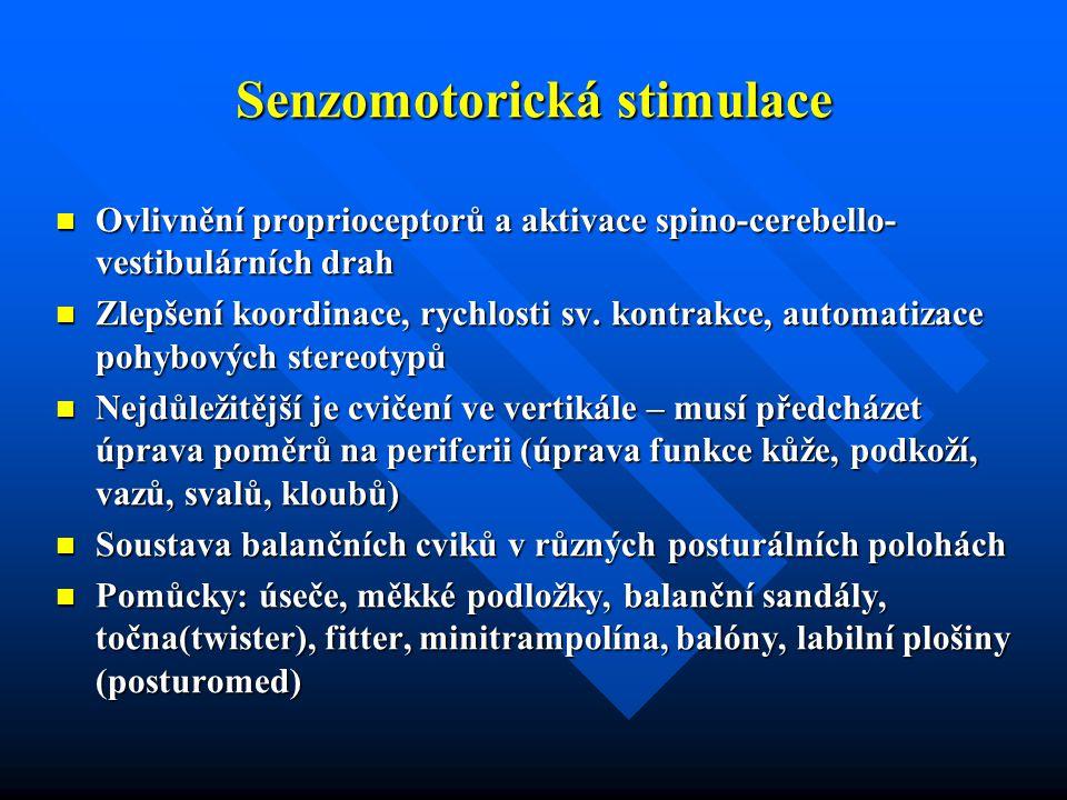 Senzomotorická stimulace