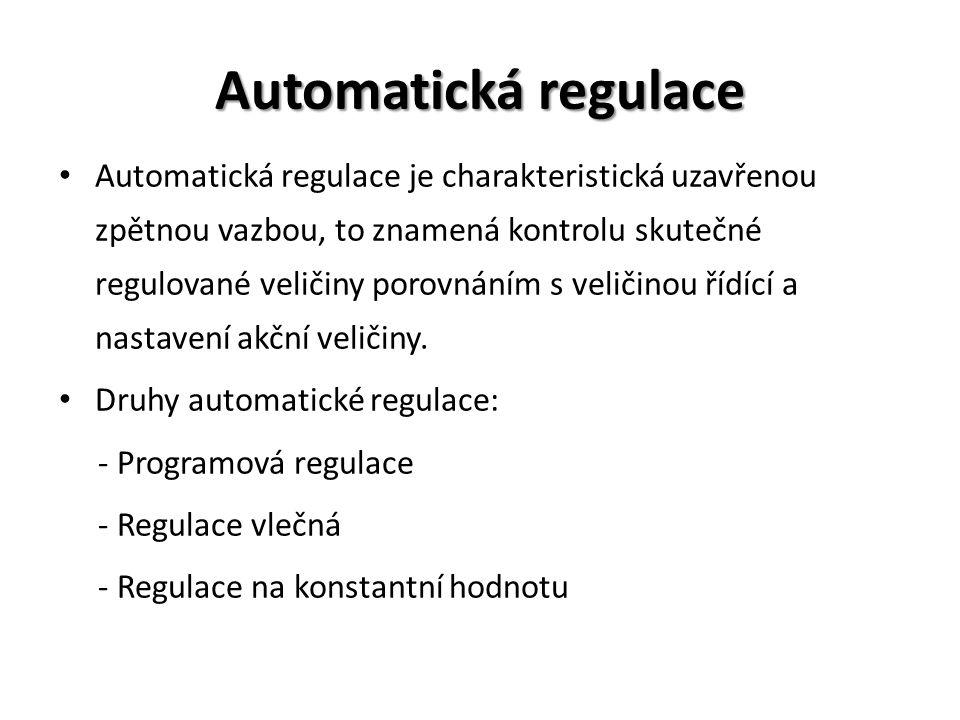 Automatická regulace