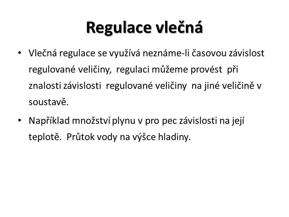 Regulace vlečná